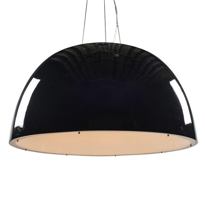 Glossy-black-pendant-lamp-100cm