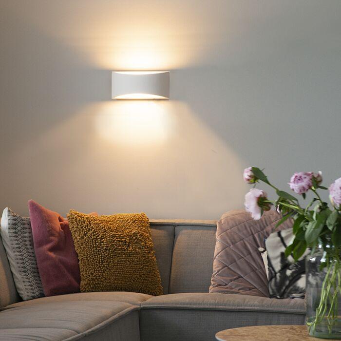 Modern-wall-lamp-plaster-30-cm---Gipsy-Creil