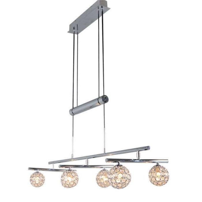 Pendant-lamp-Sfera-3-x-2-chrome