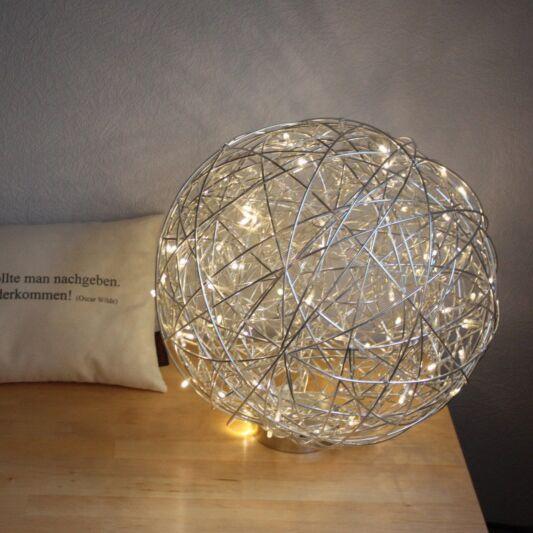 Floor-Lamp-Draht-Sphere-40cm-LED-Aluminium