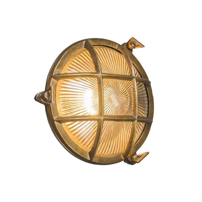 Wall/Ceiling-Lamp-Nautica-Round-Gold