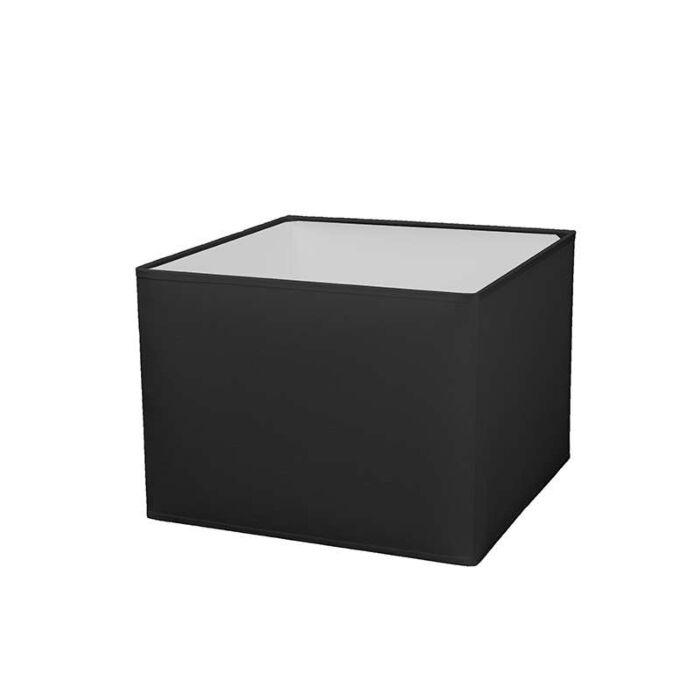 Square-shade-30/30/22-black-E27