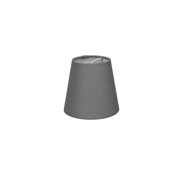Clamp-Shade-Round-12cm-SC-Grey