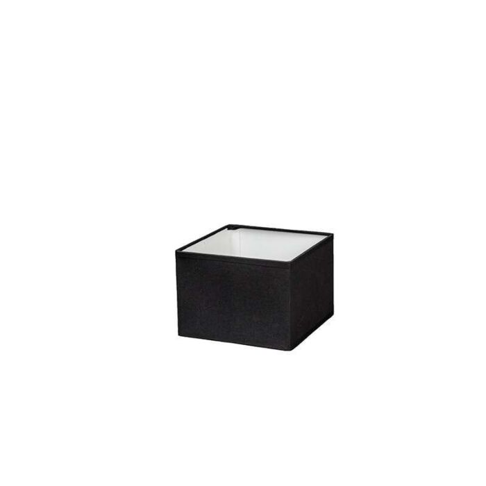 Square-Shade-17/17/12-black-E14