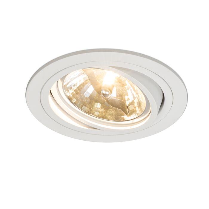 Recessed-Spotlight-Impact-round-White
