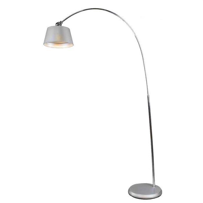 Arc-Lamp-LED-Silver