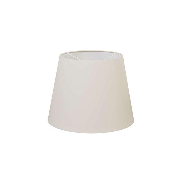 Polyester-lampshade-cream-white-35-/-27.5