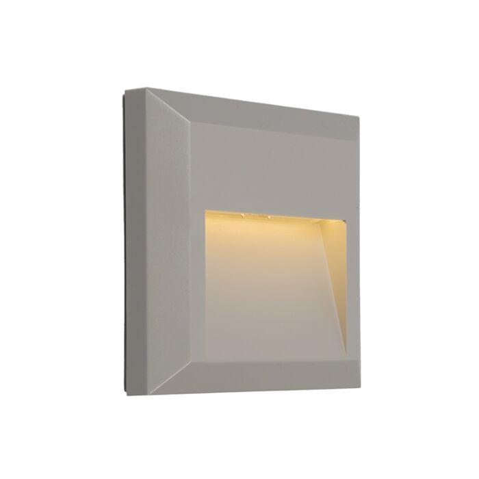 Modern-Wall-Lamp-Light-Grey-incl.-LED---Gem-2