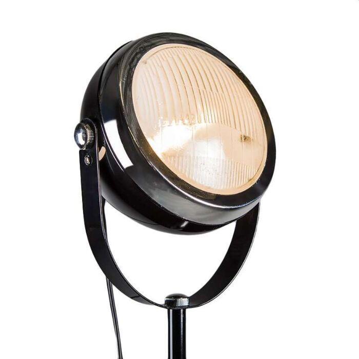 Biker-Floor-Lamp-in-Black