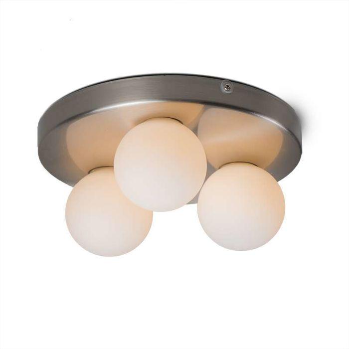 Bossini-3-steel-Bathroom-ceiling-lamp