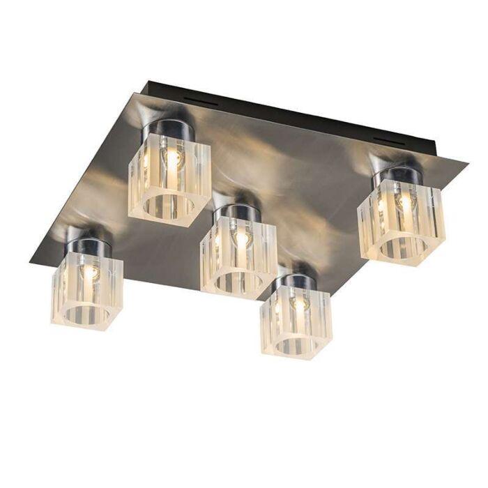 Ceiling-Dice-5-LED-chrome