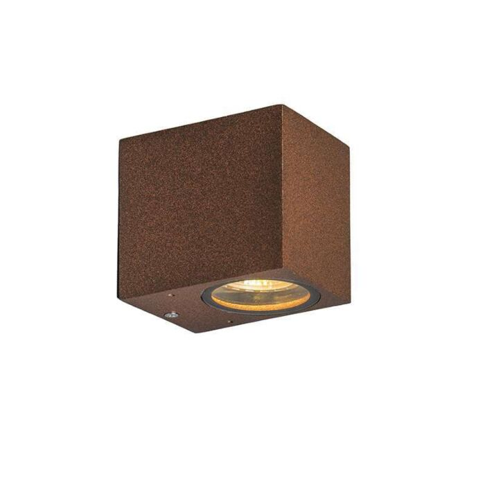 Industrial-wall-lamp-rusty-brown-IP44---Baleno-I.