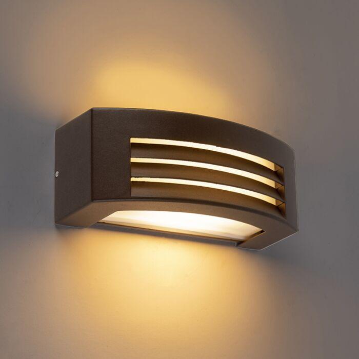 Modern-wall-lamp-rust-brown-IP44---Hurricane-1