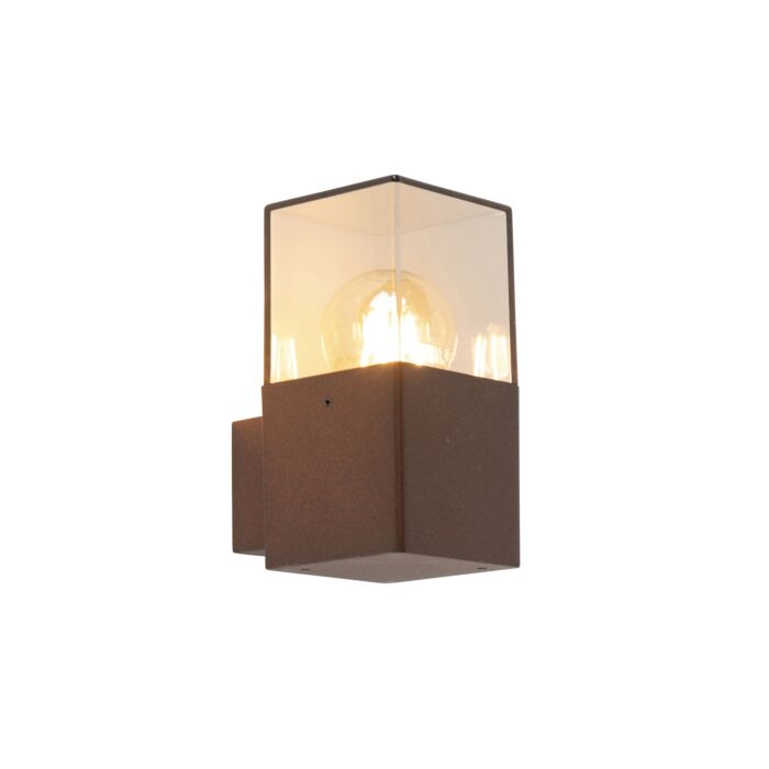 Modern-Outdoor-Wall-Lamp-Rust-Brown-IP44---Denmark