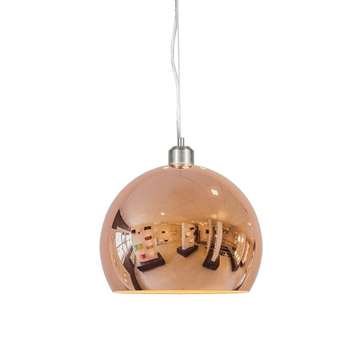Pendant-Lamp-Globe-28cm-Copper