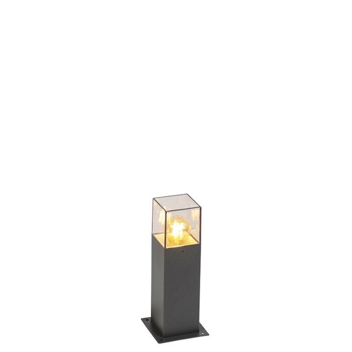 Modern-Outdoor-Pole-30cm-Anthracite-IP44---Denmark