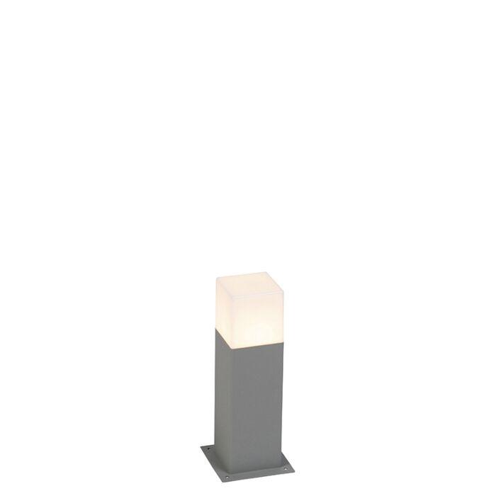Modern-Outdoor-Pole-30cm-Grey-IP44---Denmark