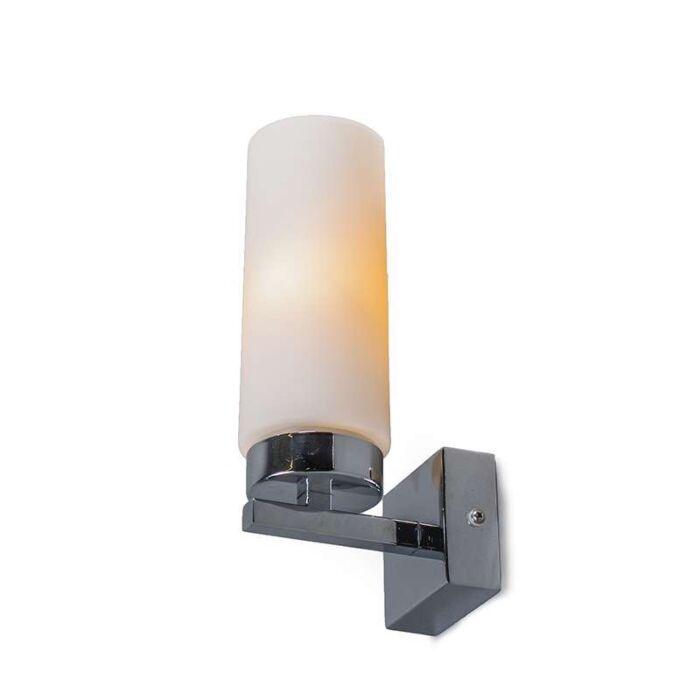 Agape-1-chrome-bathroom-wall-lamp