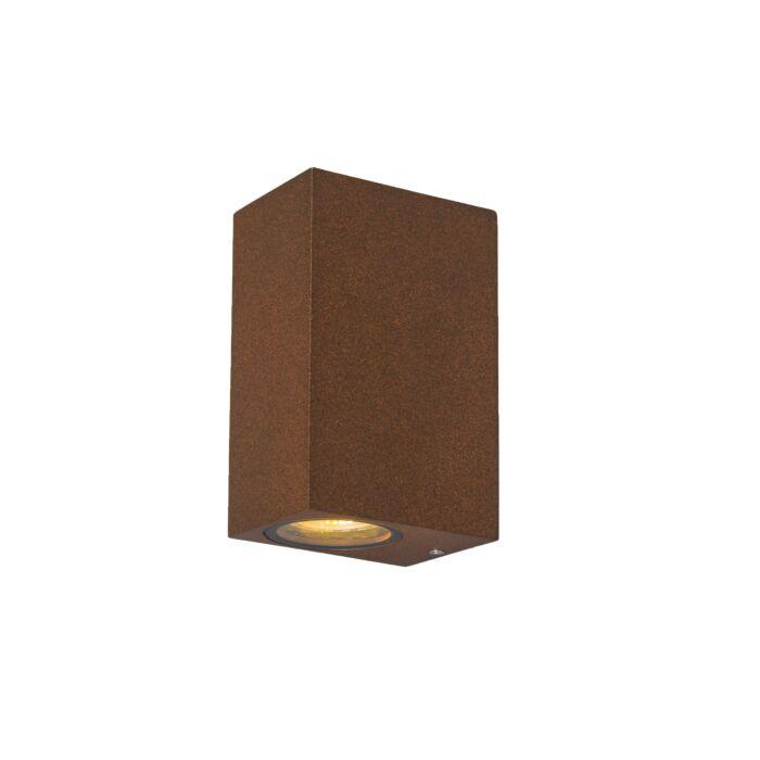 Industrial-Wall-Lamp-Rust-Brown-IP44---Baleno-II