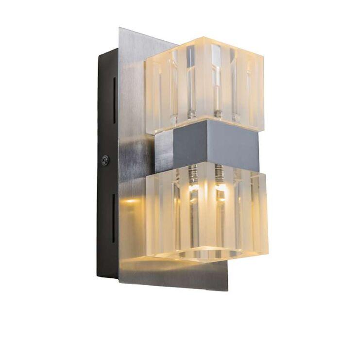 Wall-Lamp-Dice-2-LED-Chrome