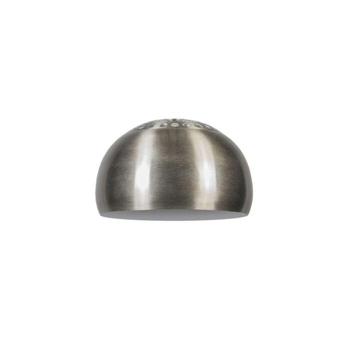 Shade-Round-33cm-Steel---Globe
