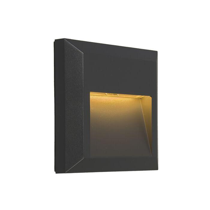 Modern-Wall-Lamp-Dark-Grey-incl.-LED---Gem-2
