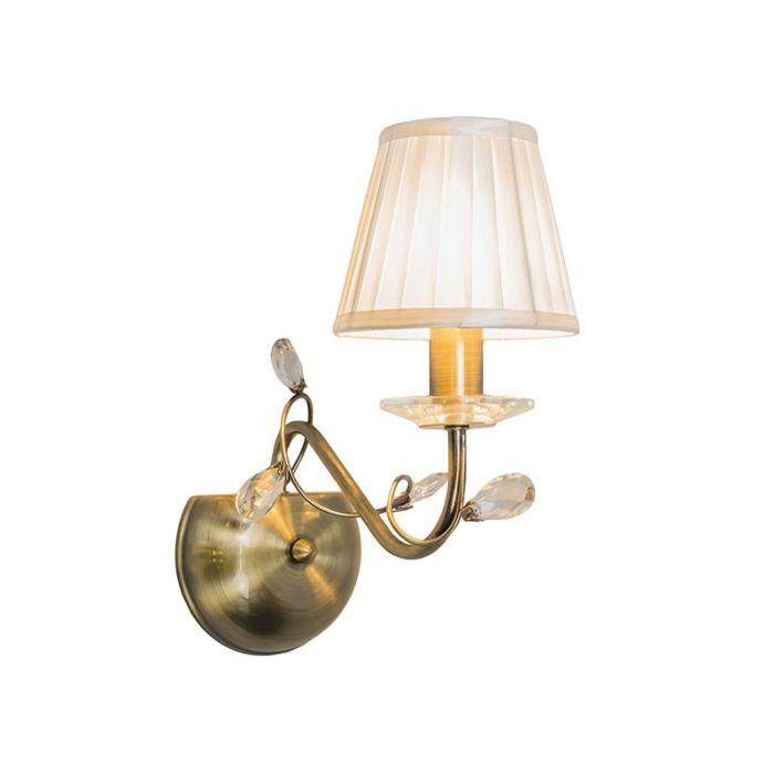 Wall-Lamp-Ruffle-1-Antique-Bronze