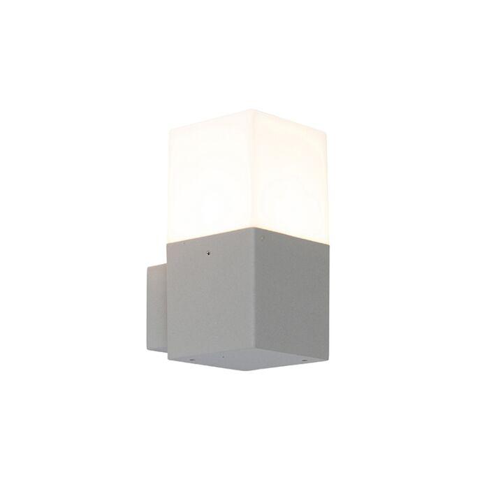 Modern-Outdoor-Wall-Lamp-Light-Grey-IP44---Denmark
