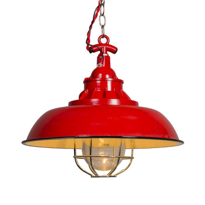 Pendant-light-Strijp-S-Red