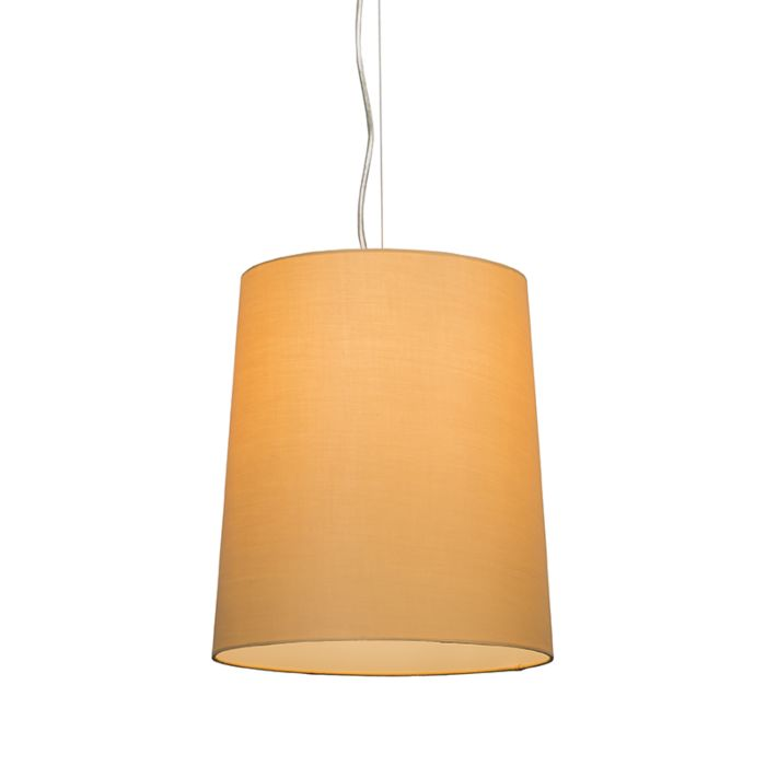 Pendant-lamp-Cappo-1-with-Beige-Shade