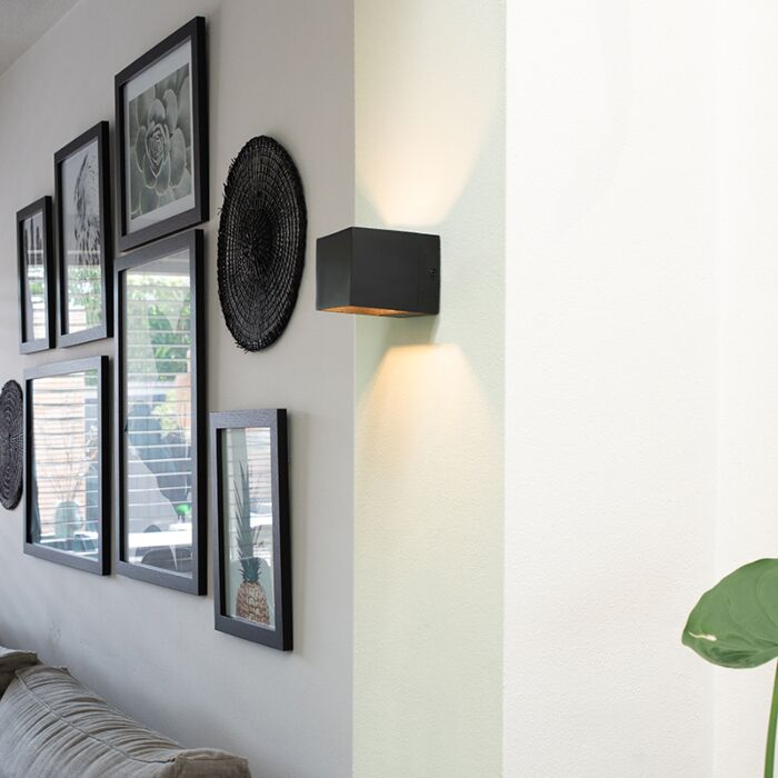 Modern-wall-lamp-black---Transfer