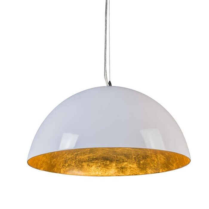 Pendant-Lamp-Magna-Glossy-55cm-White-and-gold