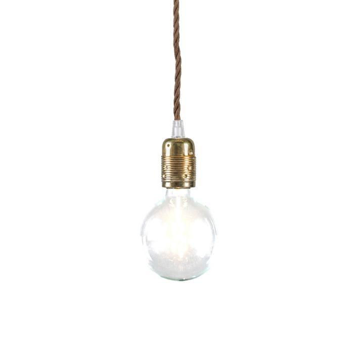 Pendant-Lamp-Cavo-Classic-Gold-Brown