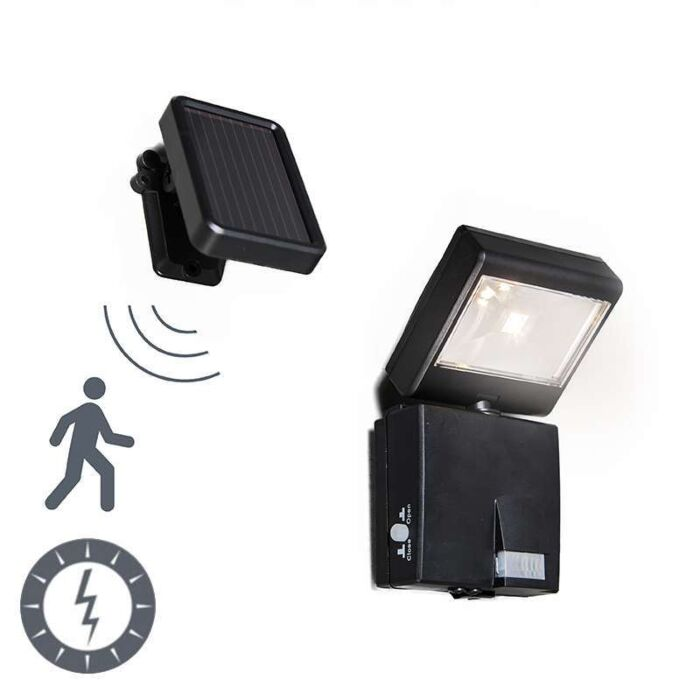 Dark-Outdoor-LED-emitter-with-motion-solar