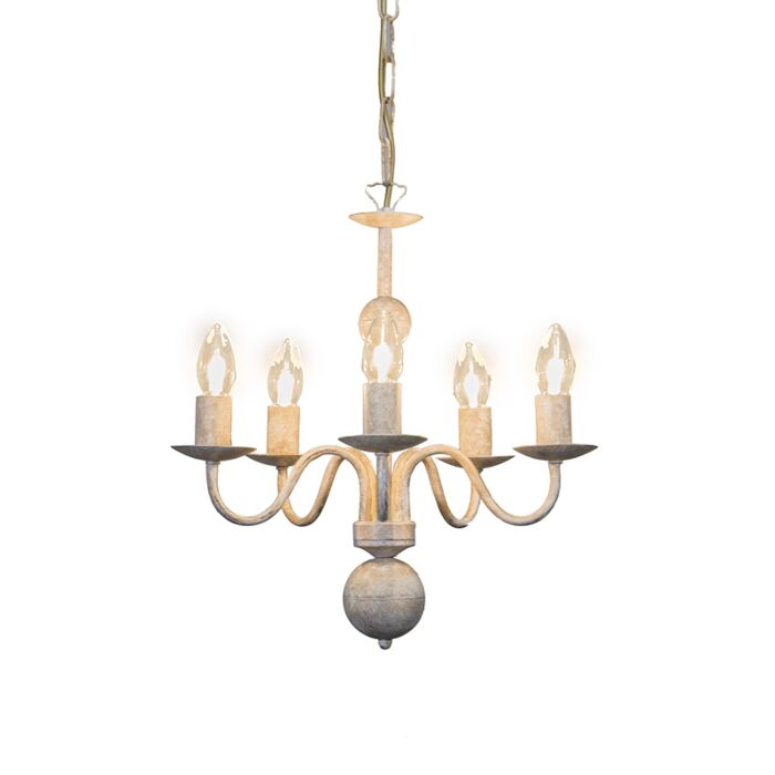 Chandelier-Romano-5-Taupe