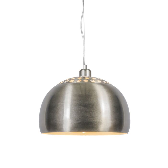 Modern-Round-Pendant-Lamp-Steel---Globe