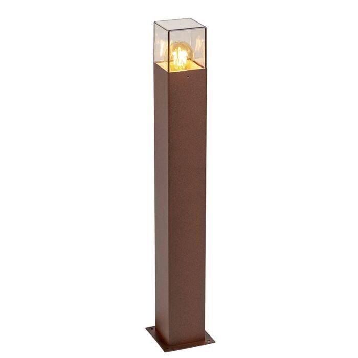 Industrial-Outdoor-Pole-70cm-Rust-Brown-IP44---Denmark
