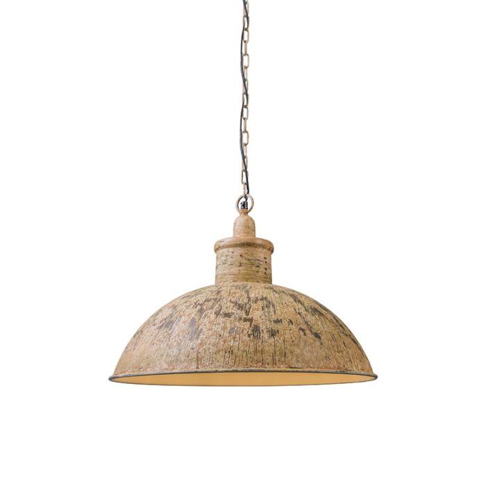 Pendant-lamp-Iron-II-rusty-white