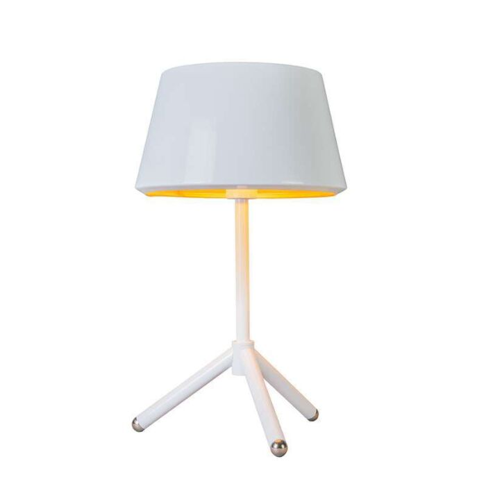 Table-Lamp-Vegas-white-with-gold