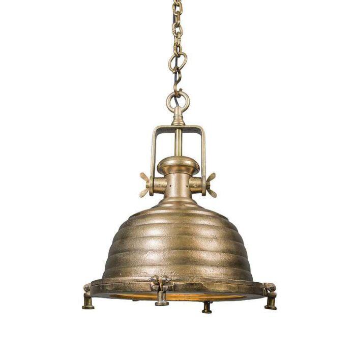 Pendant-Lamp-Fort-Raw-L-Bronze-Antique