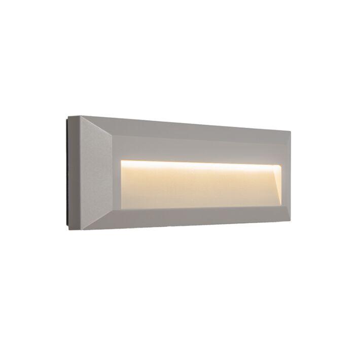 Wall-Lamp-Rock-1Light-Grey