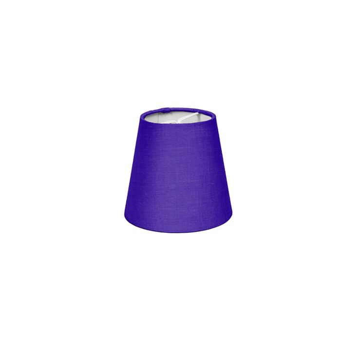Clamp-Shade-Round-12cm-SC-Purple