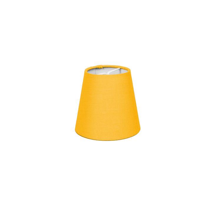 Clamp-Shade-Round-12cm-SC-Yellow