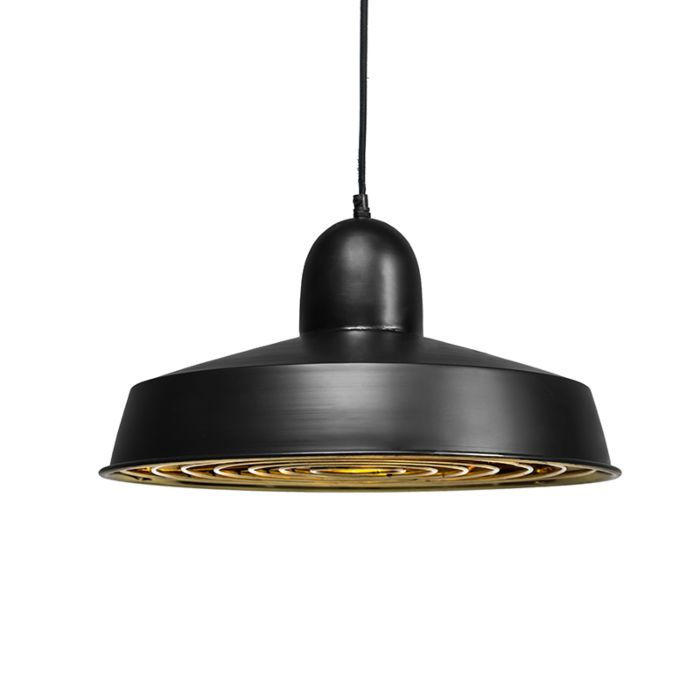 Pendant-Lamp-Strijp-Deluxe-Black-with-Gold