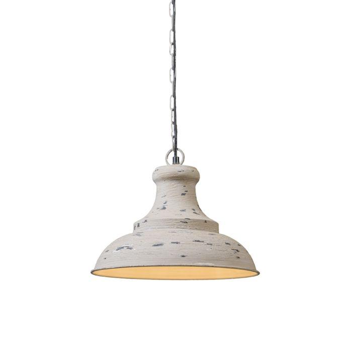 Pendant-lamp-Iron-III-weathered-grey