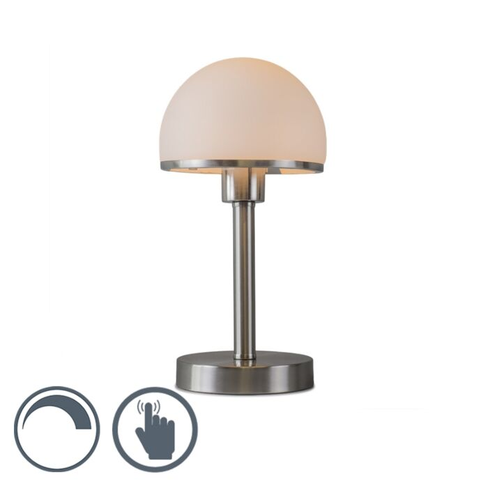 Table-Lamp-Bauhaus-Touch-Steel