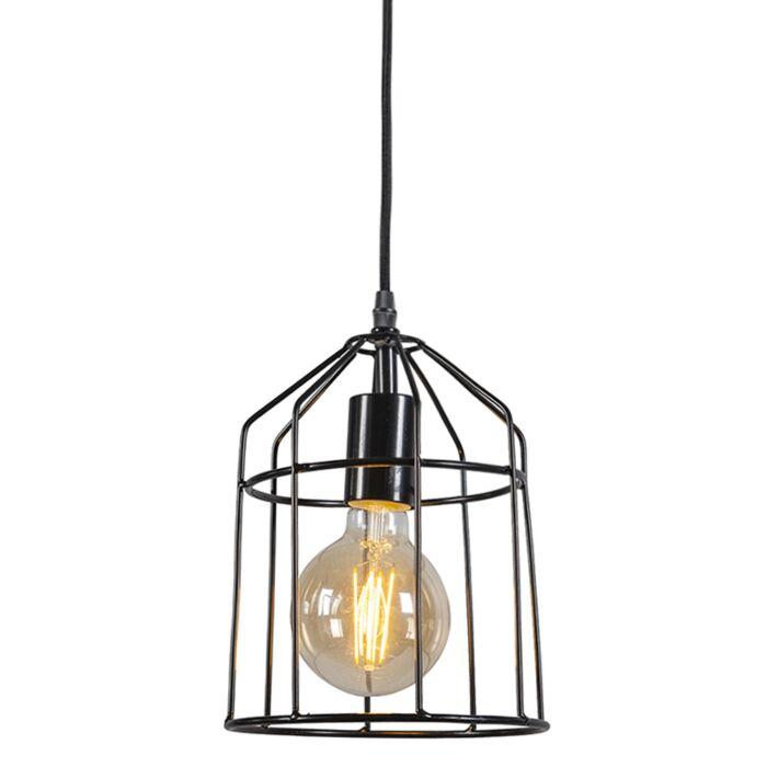 Pendant-Lamp-Frame-B-Black