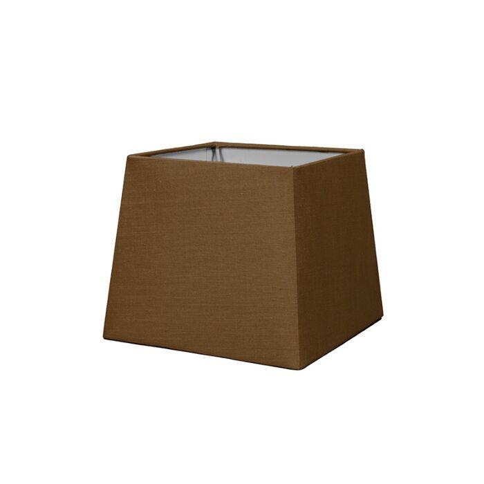 Shade-Square-18cm-SD-E27-Brown