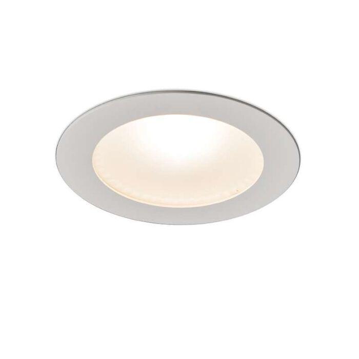 Modern-Recessed-Spotlight-White-incl.-10W-LED---Invaser