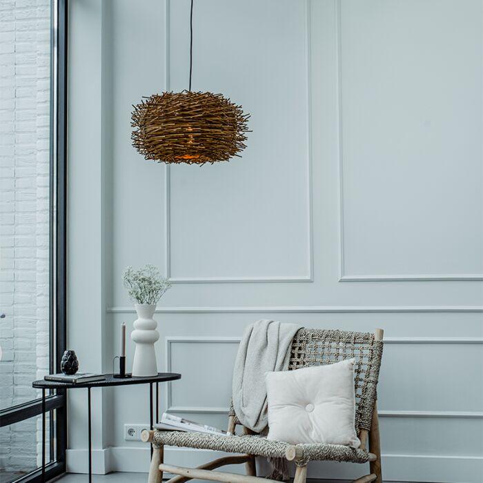 Rural-hanging-lamp-brown-rattan---Hatch-45